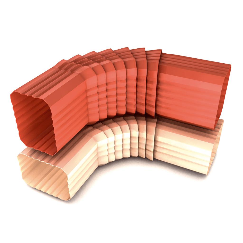 Codo rectangular