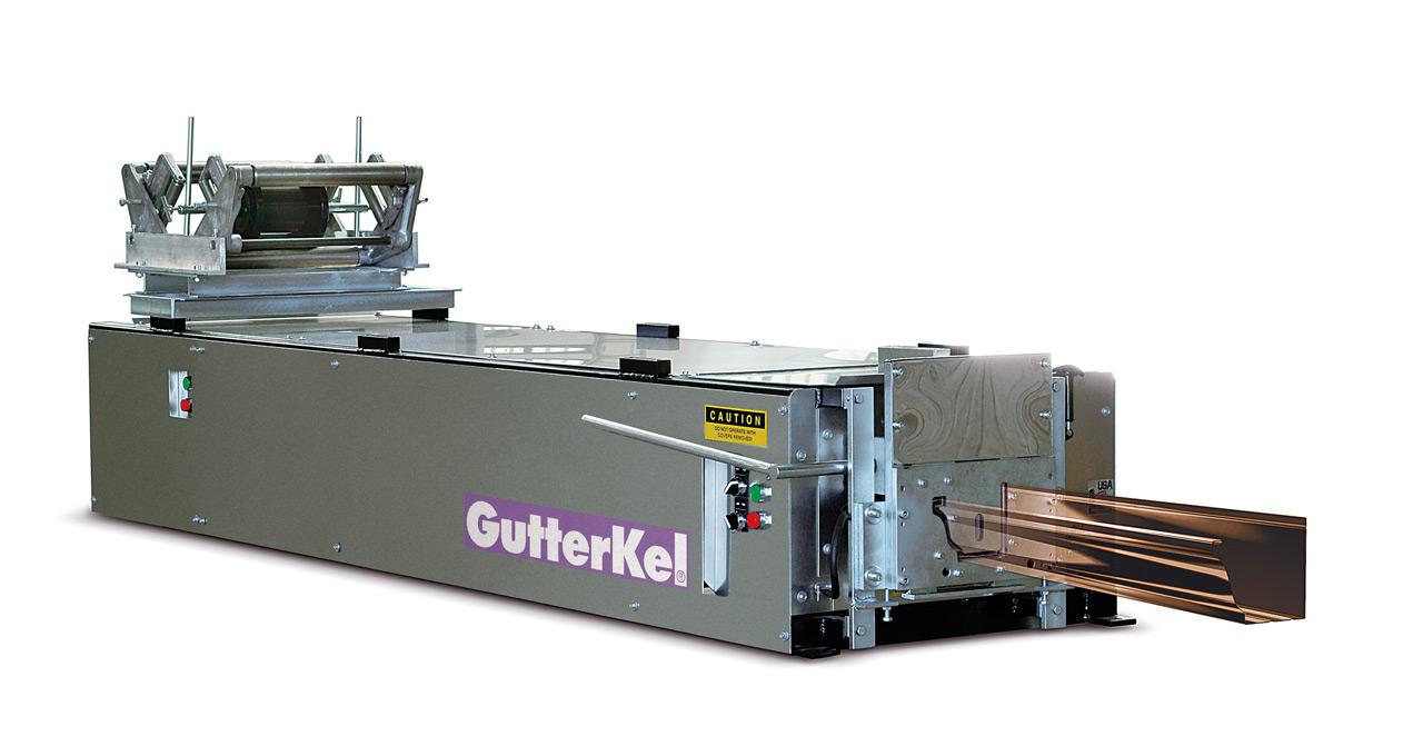 "Perfiladora industrial de canalón cornisa ""Gutterkel"""