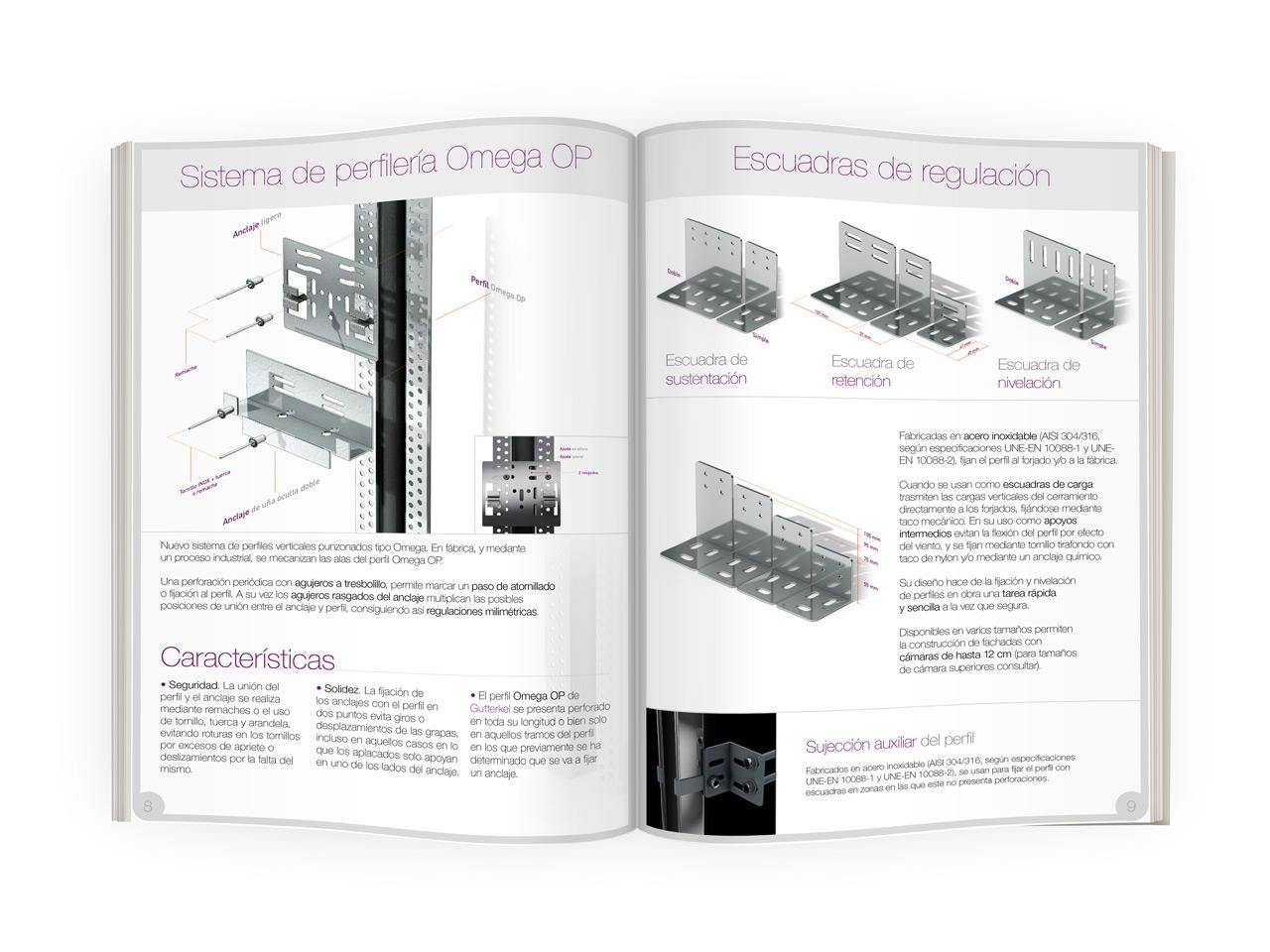 Catálogo Anclajes de Fachada Ventilada