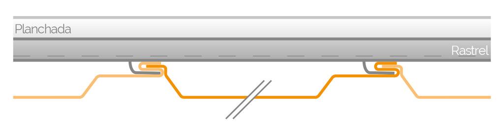 Fijación del panel LC